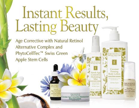 Eminence Organics Age Corrective Collection - Oakville Beauty Institute